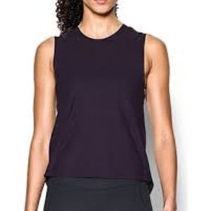 Under Armour Supreme Muscle Purple Tank Top